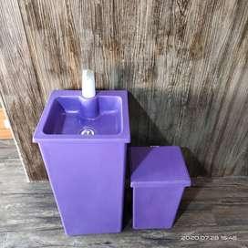 wastafel portable ungu