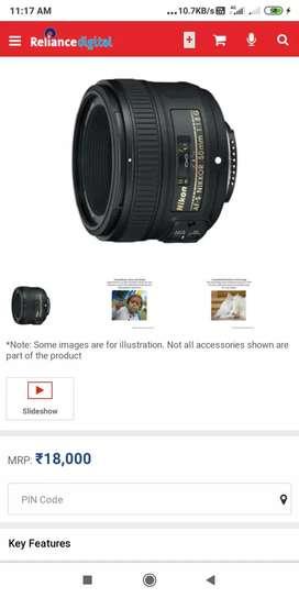 Nikon d3500 with prime 50mm lens