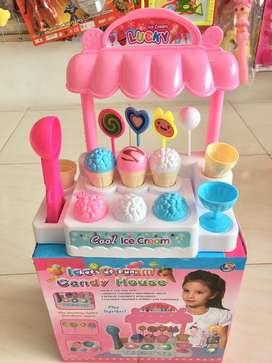Mainan es krim anak ada musik