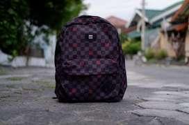 Vans backpack spiderman