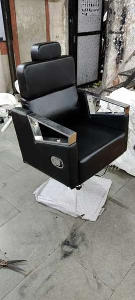 High back black recliner salon chair only new products for sale