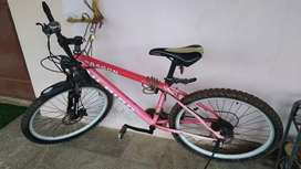 HIBIRD, Dragon 21 Speed MTB, 26T, Double Disc, Red
