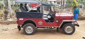 Mhahindra jeep 5gear very good condition ISRA TRAVELS chalakydy
