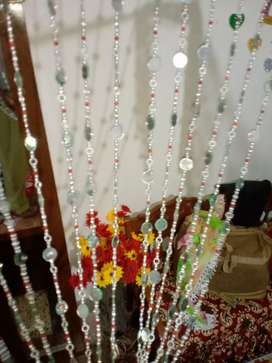 Decorating beads curtain for home, office etc.
