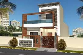 139 Yard under Construction House With Latest Elevation For Sale