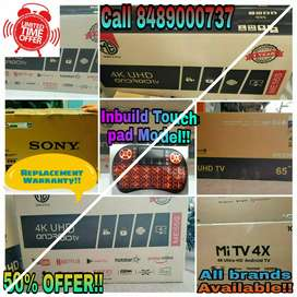 """50"""" SONY,ME ! SMART 4K ANDROID LED OFFER PRICE @ 25,999/="""