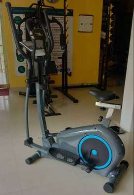 Lose Weight Workout With CW 939 Model Elliptical Cross Trainer