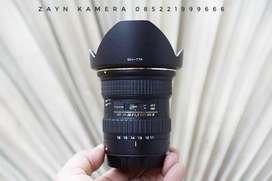 Tokina 11-16mm f2.8 DX ii mulus lengkap