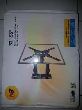 bracket tv/monitor fullmotion cantilever mount NB -P4
