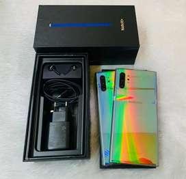 Samsung Note 10+ Ram 12/256 Dual Sim Garansi Resmi Sein Fullset mulus