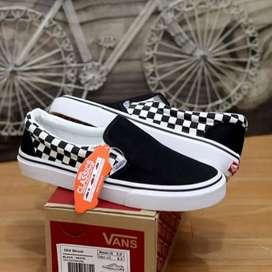 Vans slip on semi checkerboard