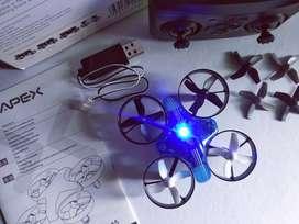 Drone mini APEX GD-65A stabil sudah Altitude Hold