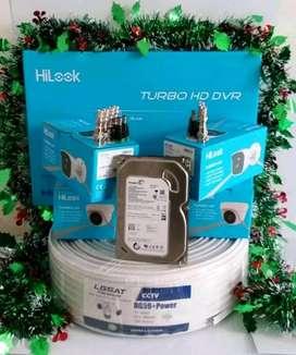 CCTV paket komplit gratis jasa pasang.