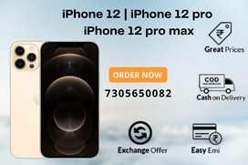 iPhone 12pro - 12pro max - iphone12 - 0% EMI - Exchange offer - COD