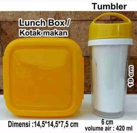 Souvenir 1 set tumbler Dan lunch box