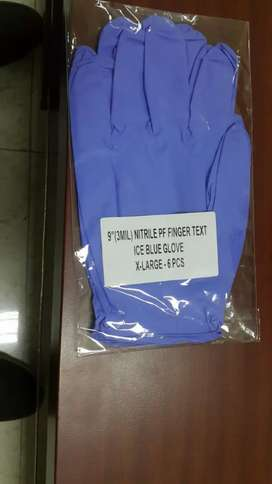 Glove nitrilen.alat kesehatan