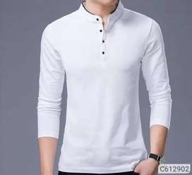 Cotton Solid T-Shirt