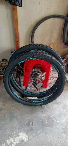 Wheelset atau velg copotan sepeda xtrada 6 limited edition 2020