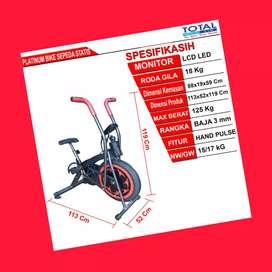 jual sepeda statis platinum bike total G-063 alat fitnes solo