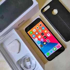 Iphone 7 Plus 128GB Blackmatte Lengkap