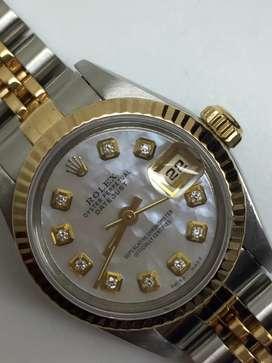 PROMO Rolex ladies Datejust 18KSS Diamonds Kerang
