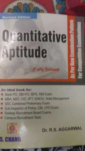 Quantitative Aptitude Fully solved by Dr R S Aggarwal