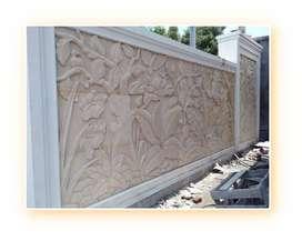 ~ Ornamen 3D + Relief Dinding Mamasa   Ahli Desain & Pembuatan Relief