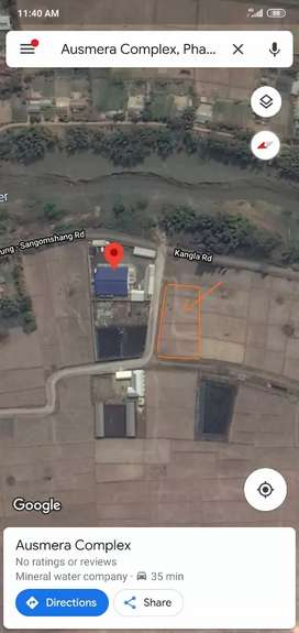 Land on sell Next to ausmera complex kangl a sangomshang,imphal east