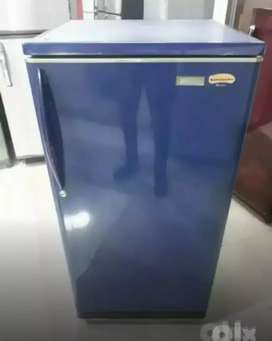 Kelvinater single door fridge 190liters in blue colour