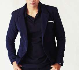 Blazer Pria - Blue Skiny Suit - (SK-84)