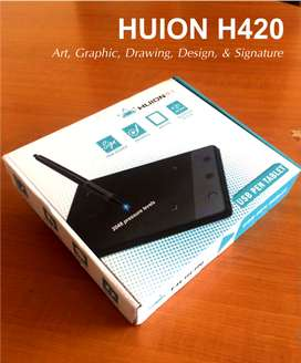 Tablet Stylus Huion H420, Signature, Design, Drawing, Osu!