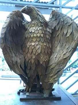Jual Patung eagle atau burung  elang