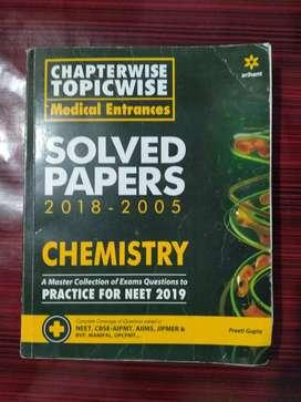 Arihant Chemistry medical entrances solved paper