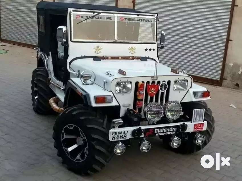 Rajinder motors Full modified Jeep ready your booking to All States 0