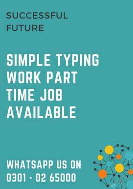 Simple online typing work to earn extra pocket money at home daily