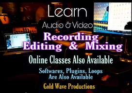 Audio Recording editing mixing in 7 days