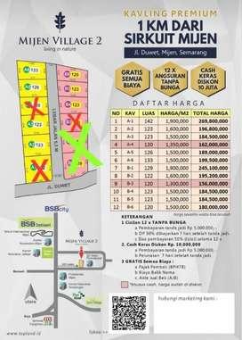 Jual Tanah Spesial Siap Bangun di Mijen Kota Semarang