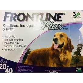 Obat Kutu Anjing FRONTLINE Plus 20-40 Kg/Frontline Dog