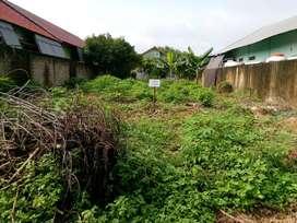 Dijual Tanah ukuran 11m x 20 m sudah pondasi