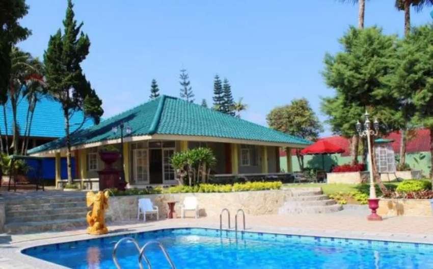 Dijual Villa Aktif Luas Fasilitas Lengkap di Puncak Bogor