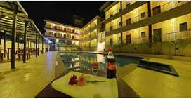 3* Fully furnished 31room Resort with swimming pool,Disco,Bar n Resto