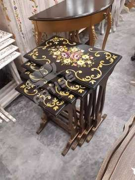 Hand painting tables