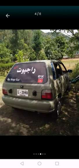 mehran car in very good condition just buy and dirve no a single work
