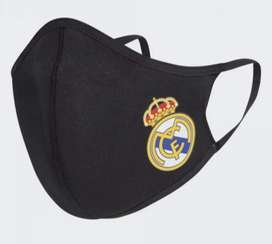 Masker kain 3 ply Real Madrid merk Adidas ORI