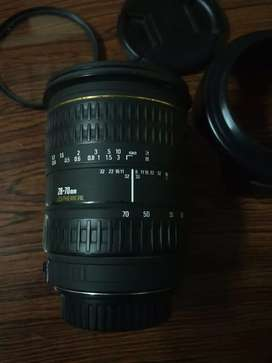Sigma 28-70mm f/2.8 for canon mint condition