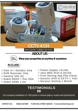 CCTV dan Instalasi