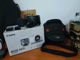 Canon M10 banyak bonus mantap
