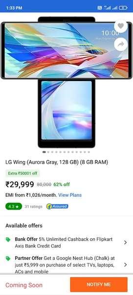 Lg Wing 5G phone