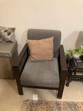 Sofa set 3+ 2 along with Table