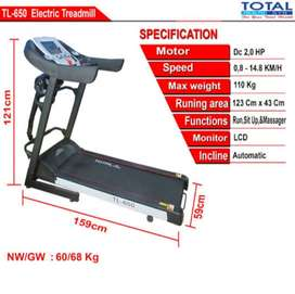 TL 650 TREADMILL ELEKTRIK Plus Massage
